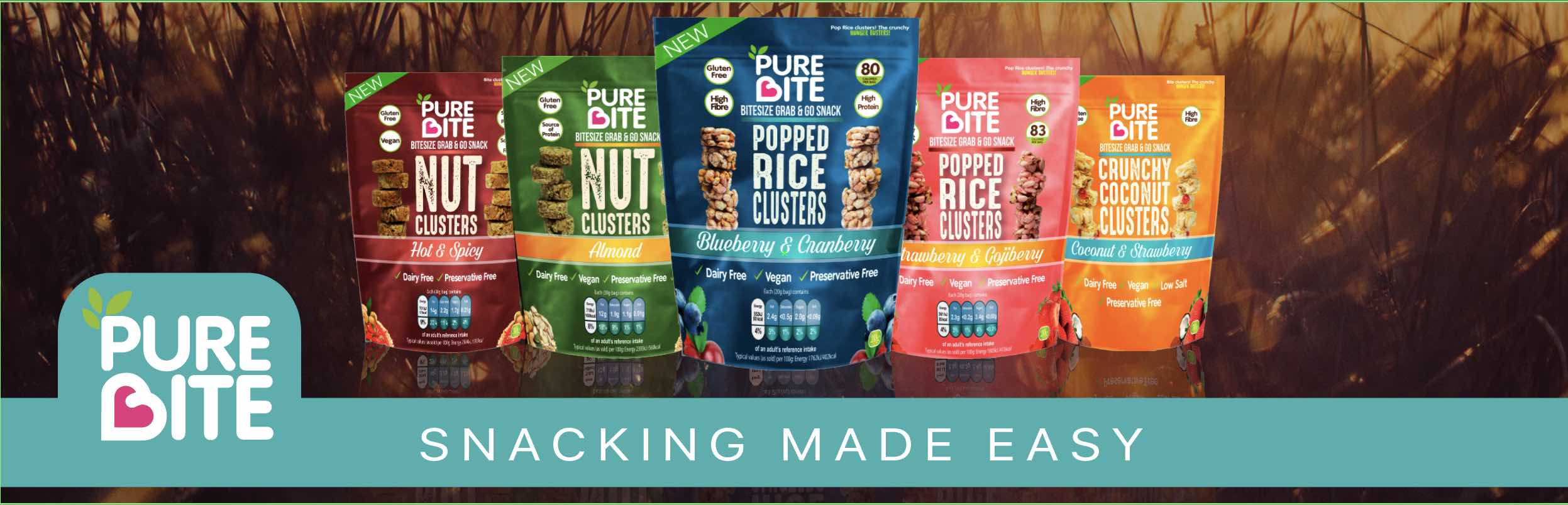 Pure Bite | Buy Now | Snacking Innovation