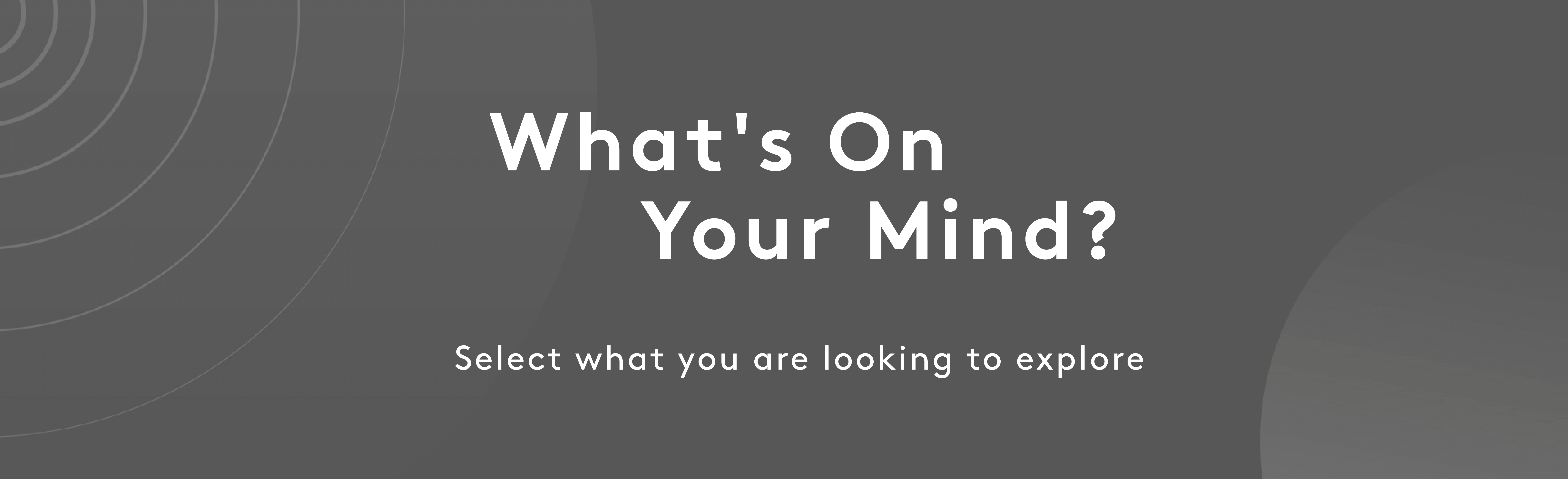 What's on your mind? | Myvitamins