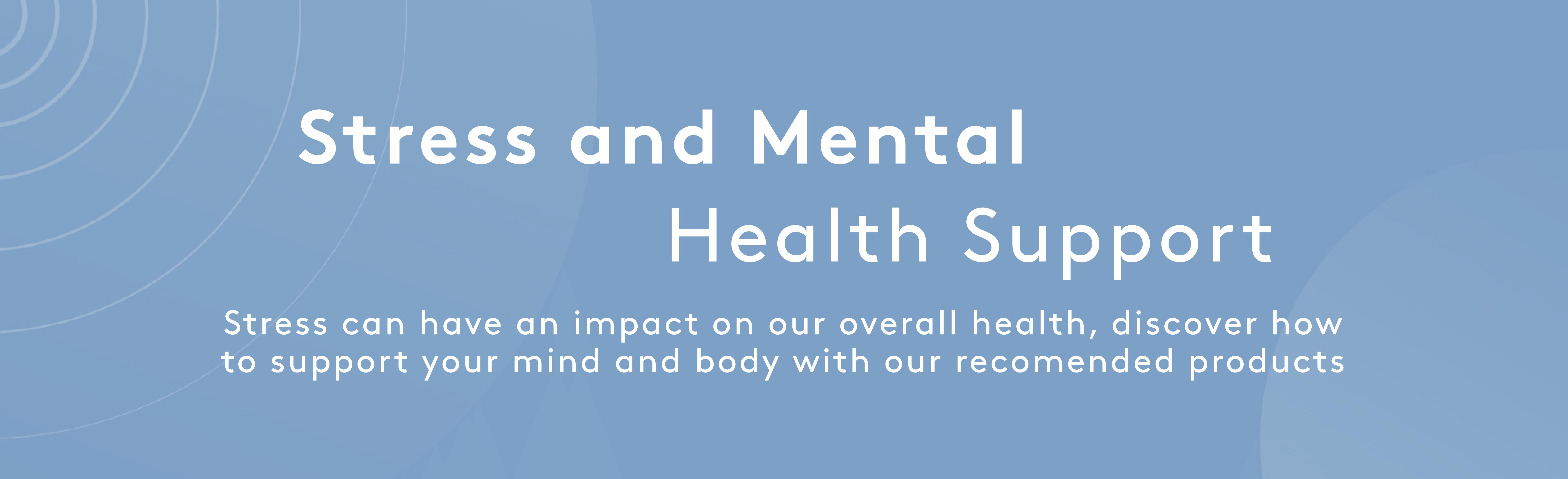 Stress & Mental Health   Myvitamins