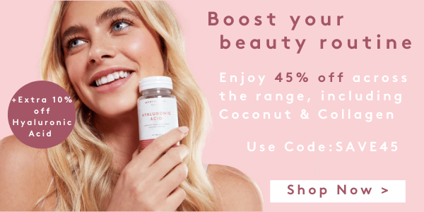 SAVE45+Extra 10% off Hyaluronic Acid   Myvitamins