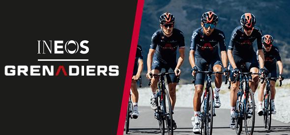 Team Ineos Grenadiers kit by Castelli