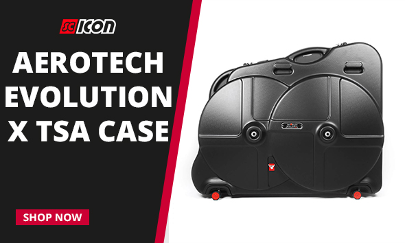 INTRODUCING THE AWARD WINNING<br>AEROTECH EVOLUTION X TSA CASE