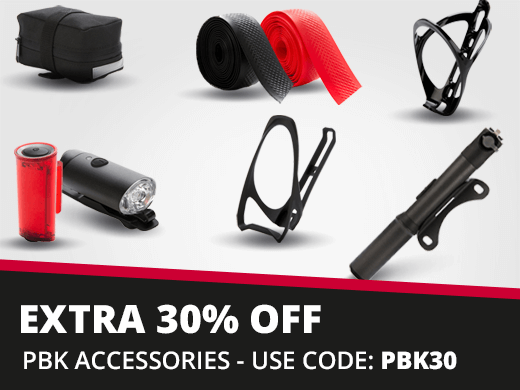 Extra 30% off PBK Accessories
