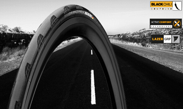 Continental tyres & tubes