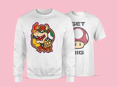 Super Mario T-Shirt und Pulli nur 27,99€