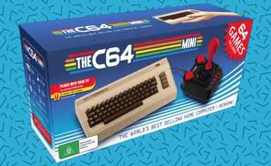 C64 Mini Retro Console<br>Only £34.99