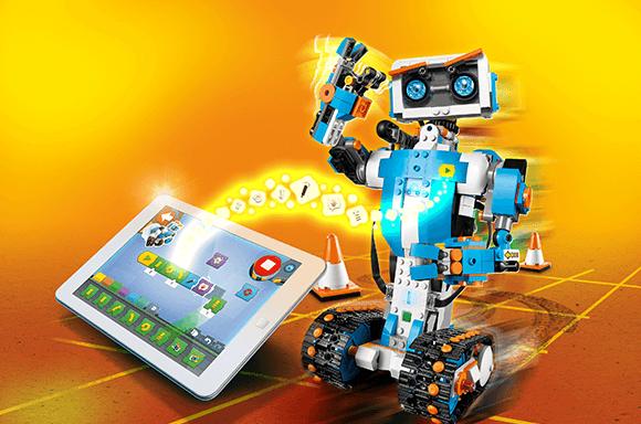 <b>乐高</b> BOOST<b>系列<br>可编程机器人</b><br>(17101)