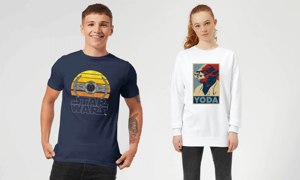 Save 30% on Star Wars Clothing