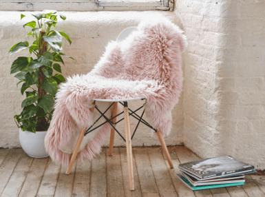 Sheepskin rugs - £34.99