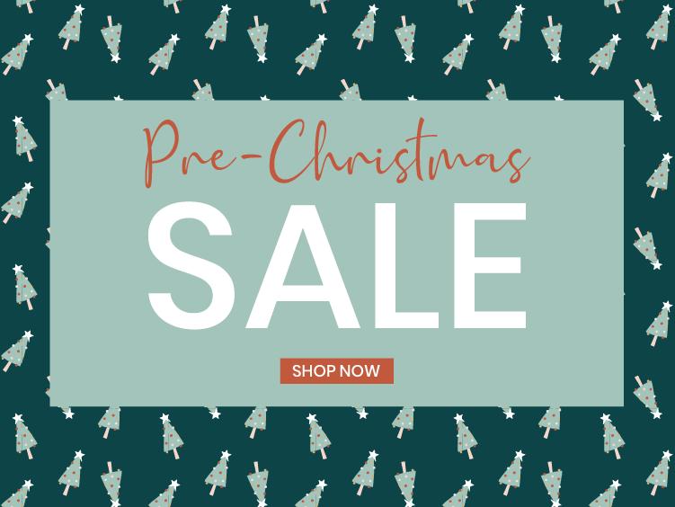 Pre-Christmas Sale!