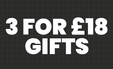 3 FOR £18 OR 6 FOR £35<br>GIFTS