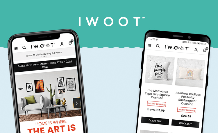 IWOOT UK APP LAUNCH