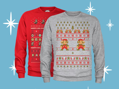 Licence Christmas Jumpers from only £16.99