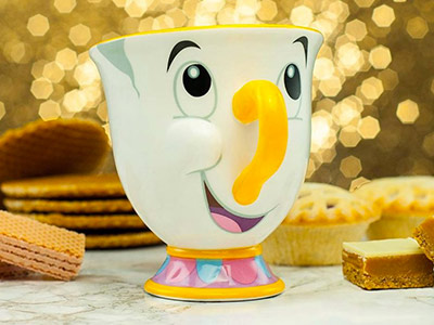 2 For £18 Beauty and the Beast Chip Mugs