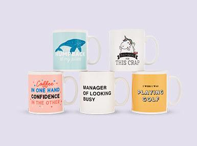 2 for £12 Mugs