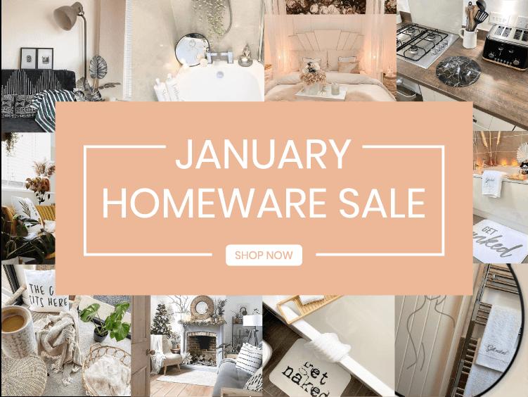 January Homeware Sale