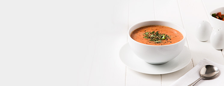 Meal Replacement Tomato and Basil Soup