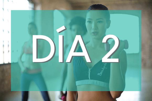 Día 2 (Semanas 7 y 8) del Plan de Entrenamiento Exante