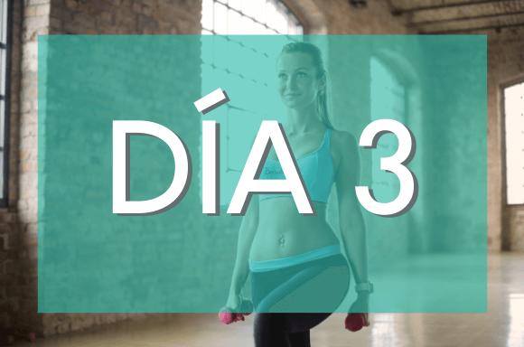 Día 3 (Semanas 3 y 4) del Plan de Entrenamiento Exante