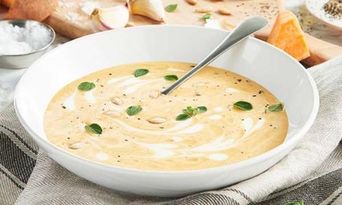 Sopa de Calabaza y Patata Dulce de exante España