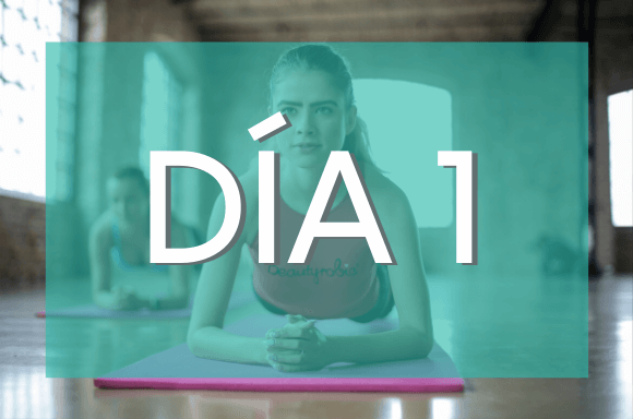Día 1 (Semanas 3 y 4) del Plan de Entrenamiento Exante