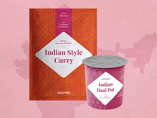 Curry in stile Indiano e dahl di Lenticchie