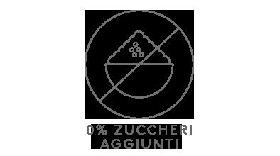 0% Zuccheri Aggiunti