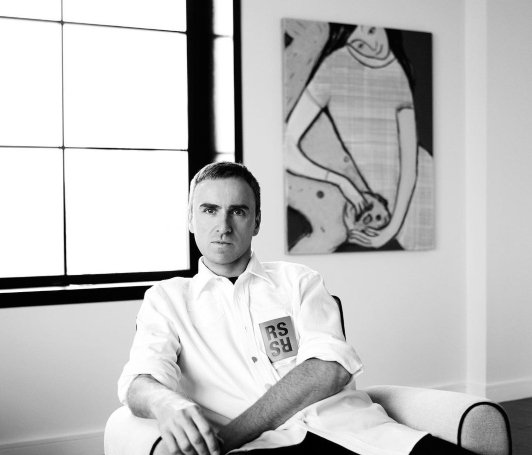 A Fashion History of Raf Simons