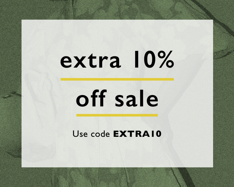 Extra 10% off SALE | Use code EXTRA10