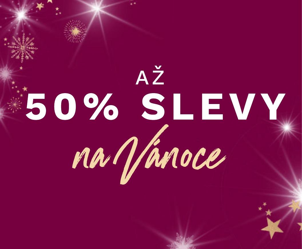 Slevy 50% na vánoční dárky