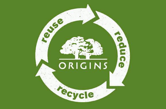 Origins: Naturlig hudpleje af høj kvalitet – inspireret af naturen, bevist af videnskaben.