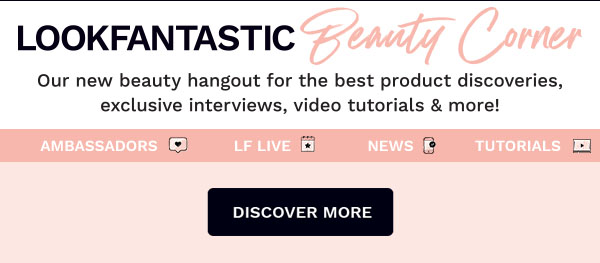 Lookfantastic Beauty Corner blogs