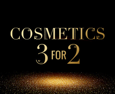 Cosmetics 3 for 2