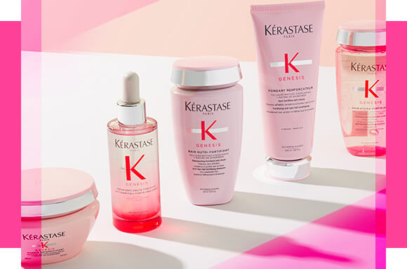 Make your tresses the talk of the town with the Genesis range by Kérastase; with dual anti-fall action, designed to combat breakage and weakened roots. Shop 20% off selected products in the range today.