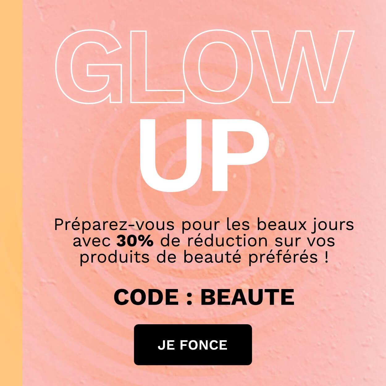Économisez jusqu'à 30%! Code: BEAUTE