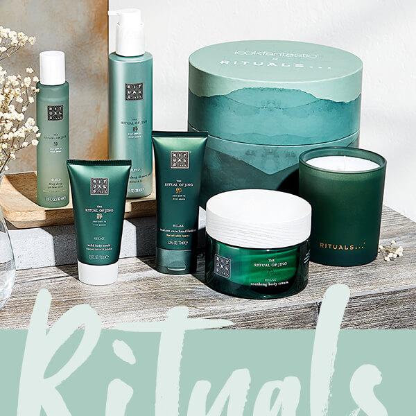 Wir stellen die LOOKFANTASTIC x Rituals Box vor, die sich ganz um das <b>The Ritual of Jing</b> Sortiment dreht. Mit 6 Produkten im Gesamtwert von über 85 €!