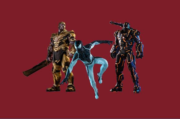 Marvel Hot Toys!