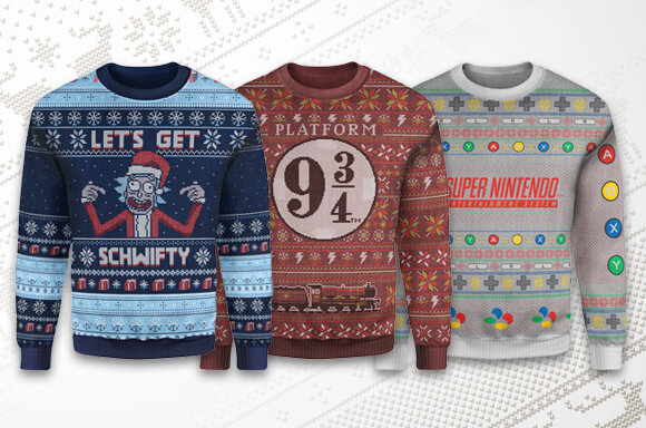 ZAVVI EXCLUSIVE CHRISTMAS JUMPERS!
