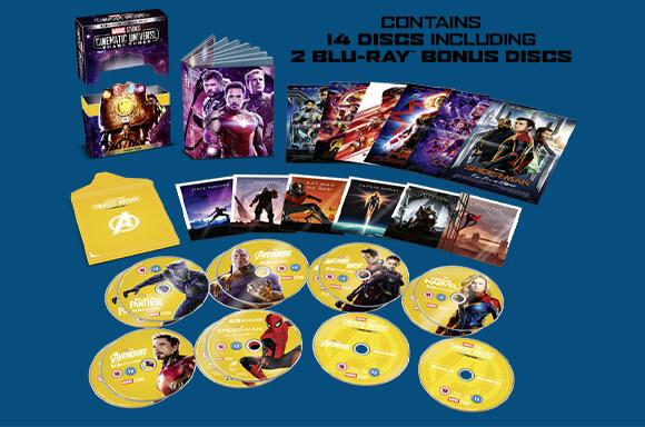 MARVEL PHASE 3.1 & 3.2 4K UHD Blu-ray BOX SETS