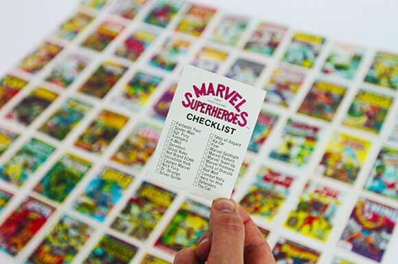 Marvel Vintage Original (1984) Trading Cards - Complete Set of 60