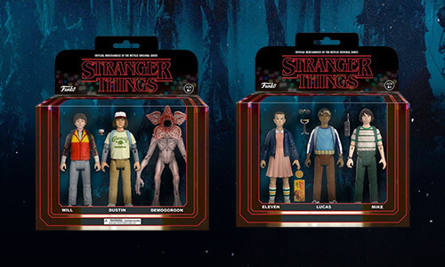 STRANGER THINGS 3-PACK ACTION FIGURES