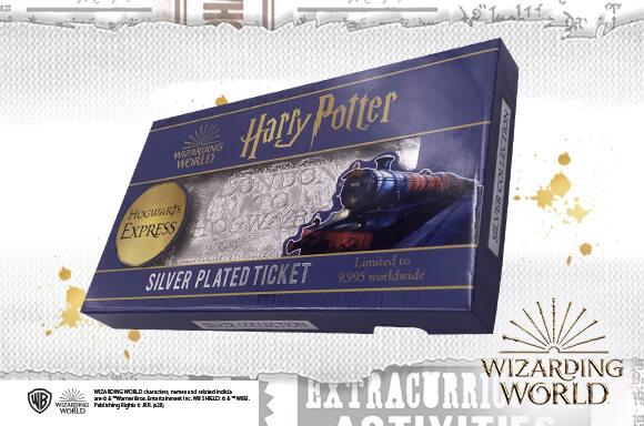HARRY POTTER SLIVER PLATED TICKET