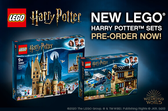 NEUE SETS LEGO HARRY POTTER