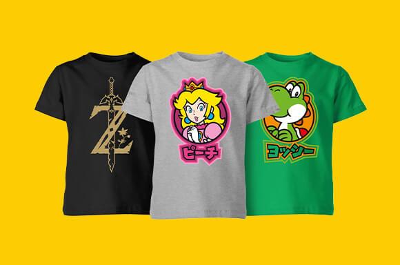Nintendo Kids T-Shirts 6,99€