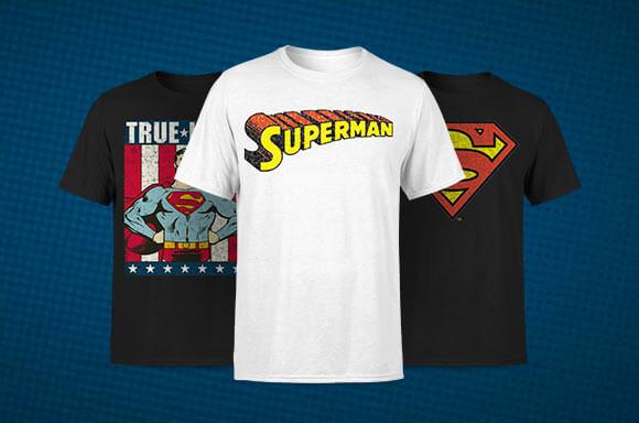 SUPERMAN LIZENZIERTE KLEIDUNG