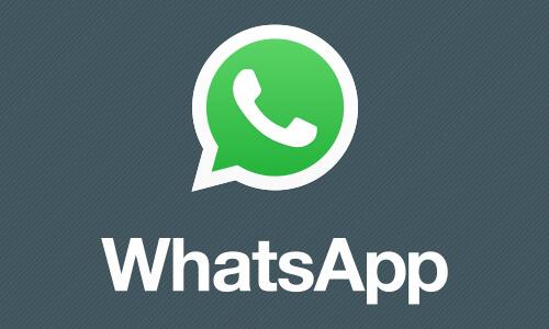 Melde dich für Whatsapp an