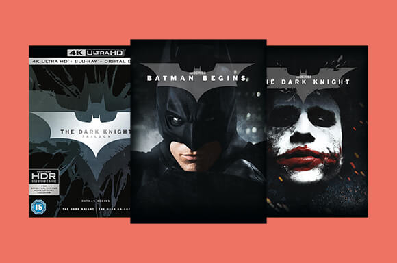 DC COMICS BLU-RAY & DVD