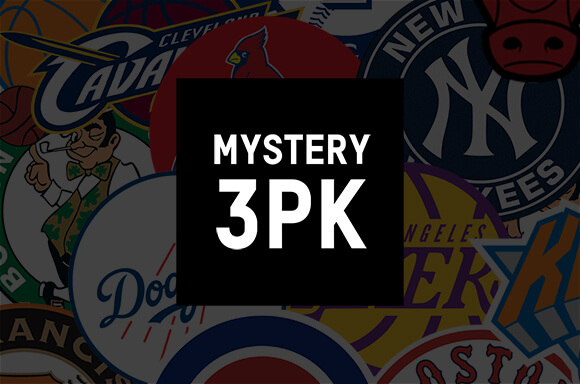 Mystery American Sports 3-pack T-Shirts