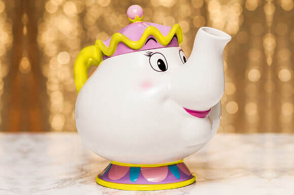 BEAUTY AND THE BEAST MRS POTTS TEA POT & CHIP MUG