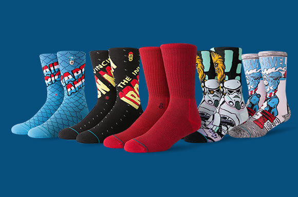 20% OFF STANCE SOCKS